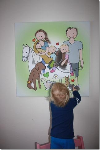 canvas schilderij van der maat