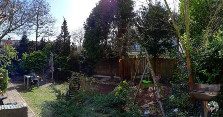 28 maart tuin b en w