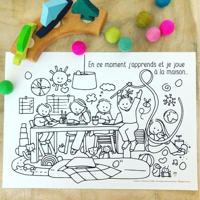 kleurplaat FR