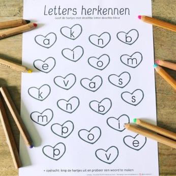 letters herkennen